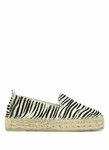 Manebi Espadril Zebra